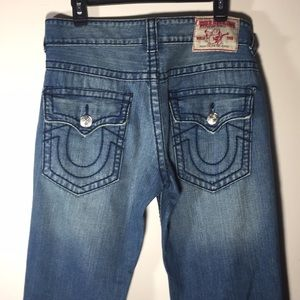 True Religion World Tour Mens Jeans 32